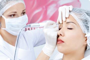 هاشور ابرو - میکروپیگمنتیشن آرایش دائم