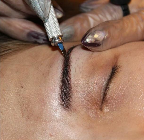 عوارض و زمان هاشور و تاتو ابرو - مضرات تاتو در بارداری