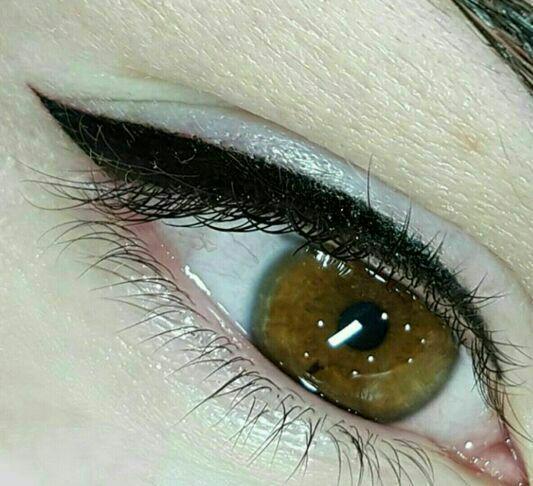 میکروپیگمنتیشن بن مژه ، میکروپیگمنتیشن خط چشم ، میکروپیگمنتیشن چشم