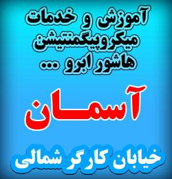 آموزش و خدمات میکروپیگمنتیشن در غرب تهران