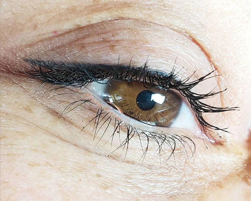 طراحی چشم ، آرایش دائم چشم ، میکروپیگمنتیشن چشم