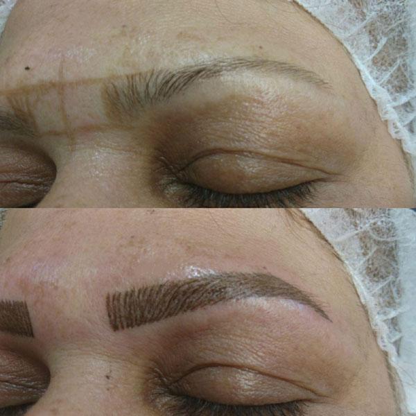 خدمات آرایش دائم ابرو
